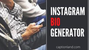 Instagram Bio Generator [Online Tool for 2020]