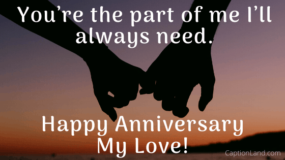 Best anniversary captions for Instagram